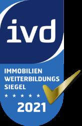 IVD Immobilienweiterbildungssiegel 2021